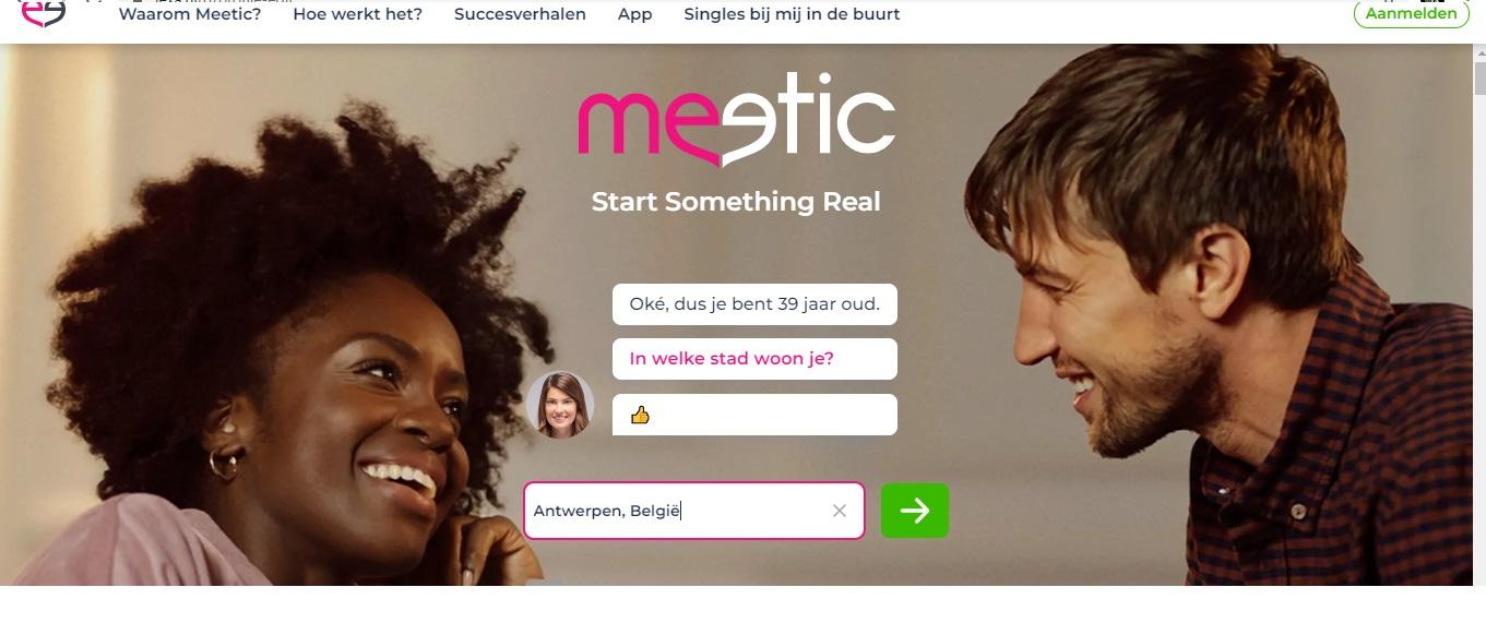 Gratis aanmelden bij Meetic